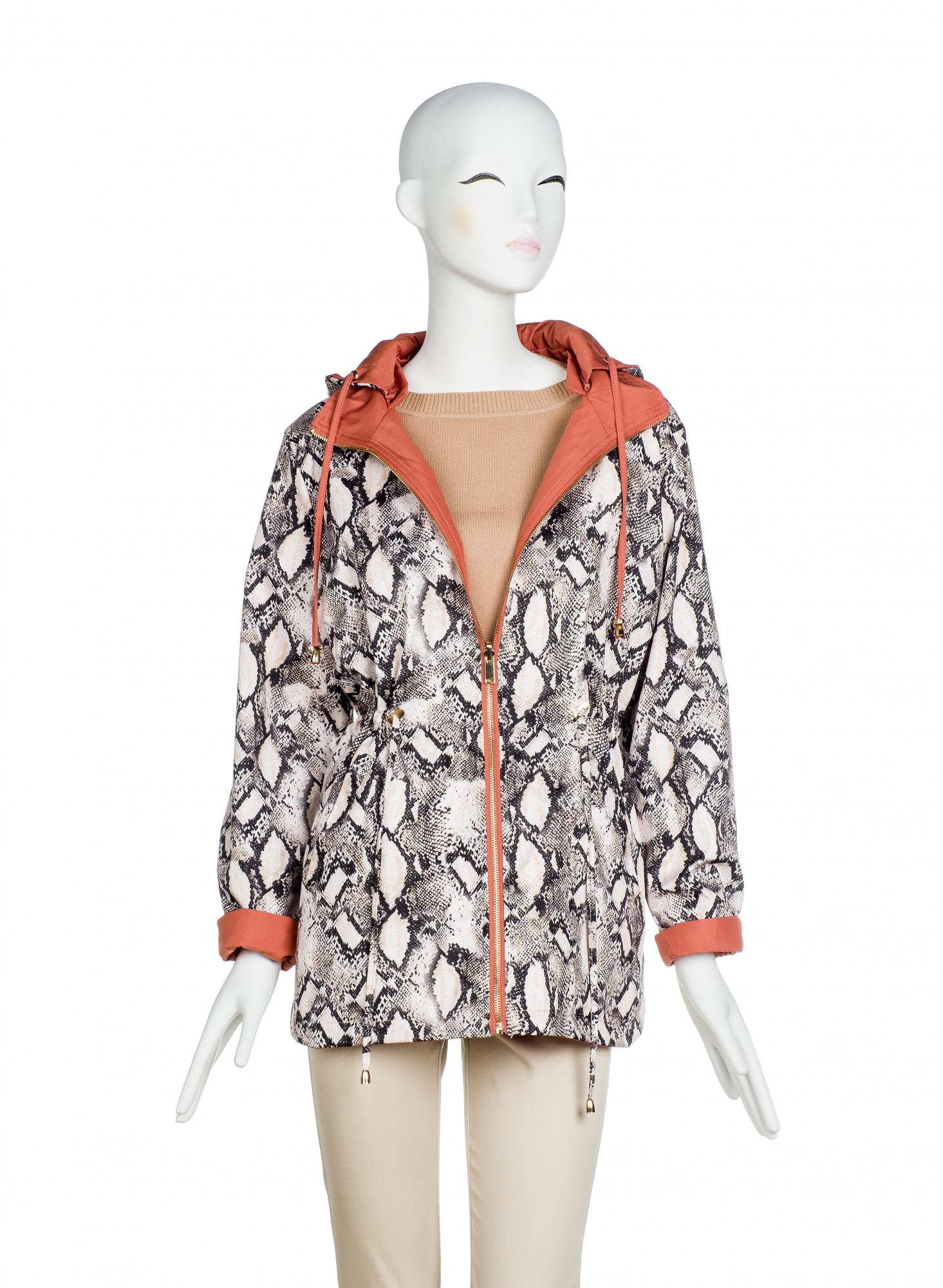 PARKA REVERSIBLE ANIMAL PRINT